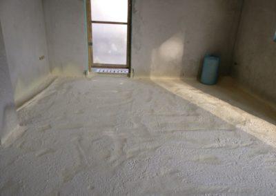 PUR csiszolva padlófűtéshez 2